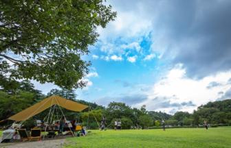 芋煮会 in 水の森公園キャンプ場
