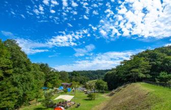 宮城県仙台市水の森公園キャンプ場での一日