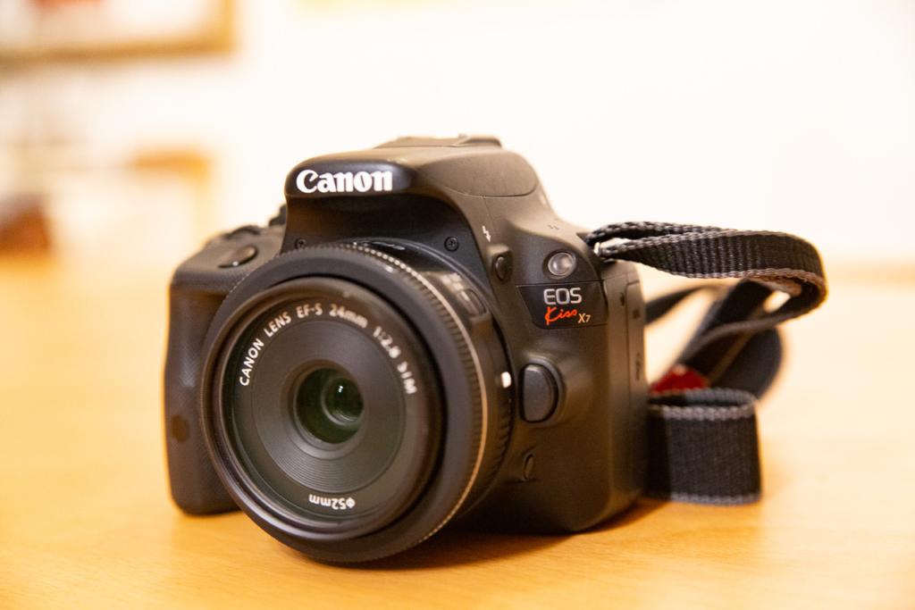 CanonのEOS KISS X7