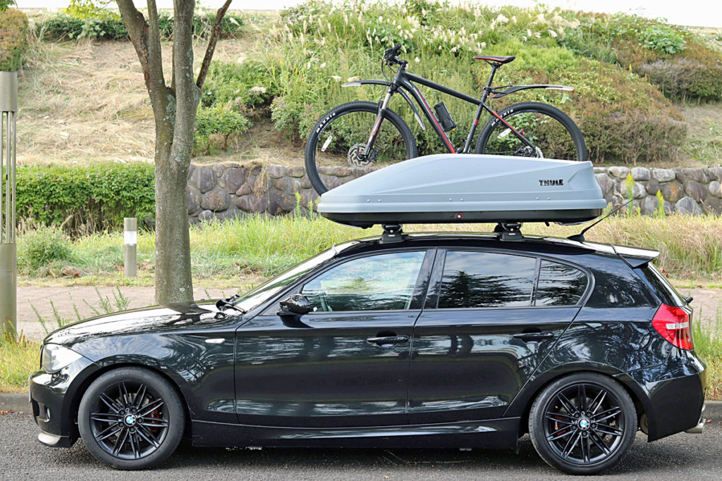 BMW1シリーズ120i MスポーツThule Touring M