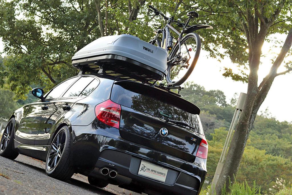 BMW1シリーズ120i Mスポーツルーフボックス