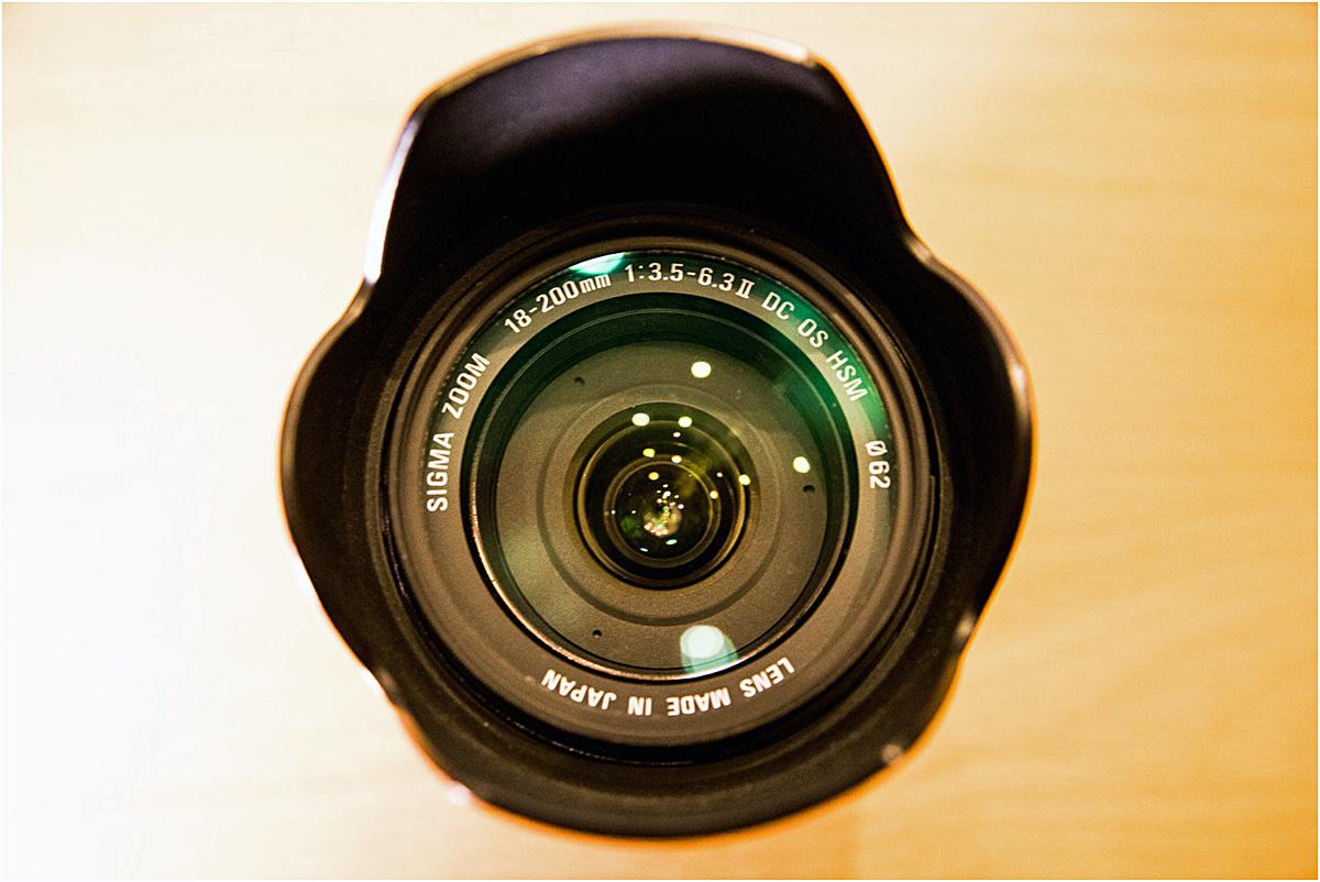 焦点距離というのはカメラボディのセンサーからレンズの焦点までの距離です
