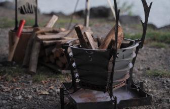 多機能で暖かい焚き火台 TRIPATHのGURU GURU FIRE