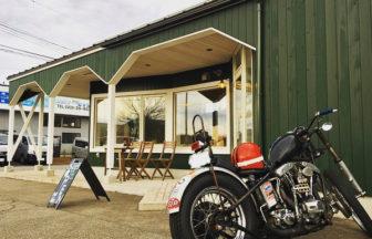 イカすぜオートバイ!今年の走り納めはフラッとコーヒーを飲みに行きつけのカフェに。