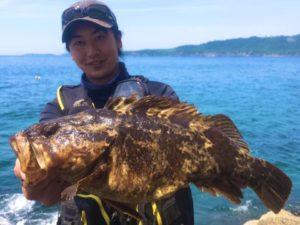 ロックフィッシュはバスフィッシングに近い要素を沢山含んだ釣り
