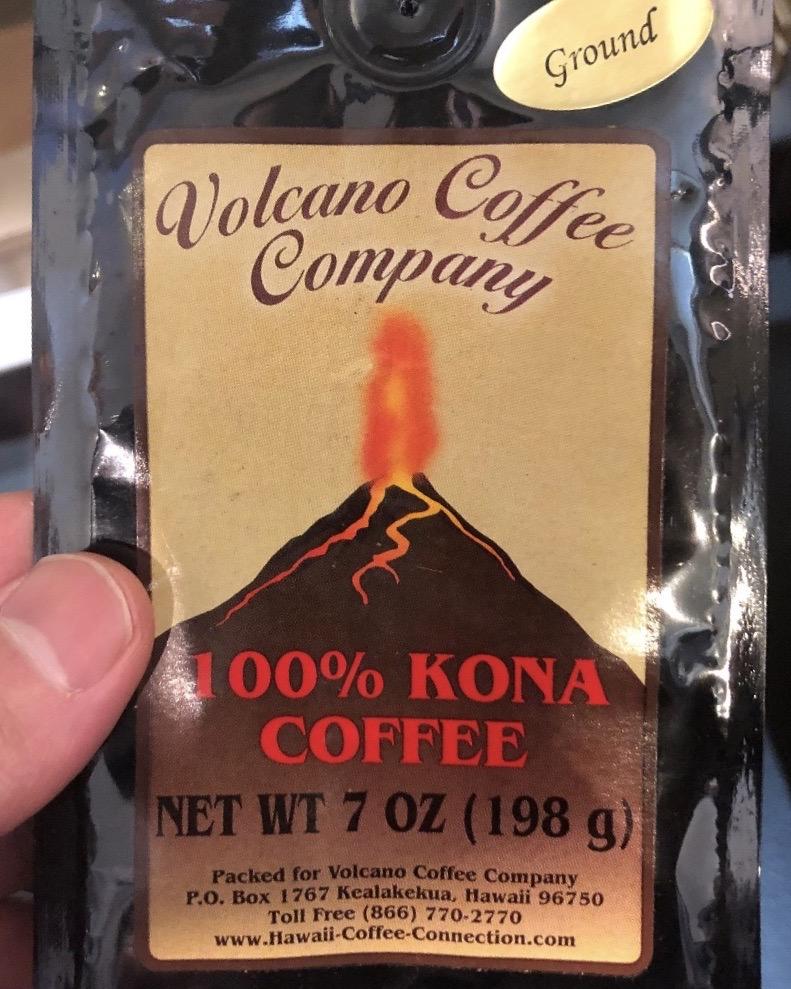 純粋な100%コナコーヒーは少ない。