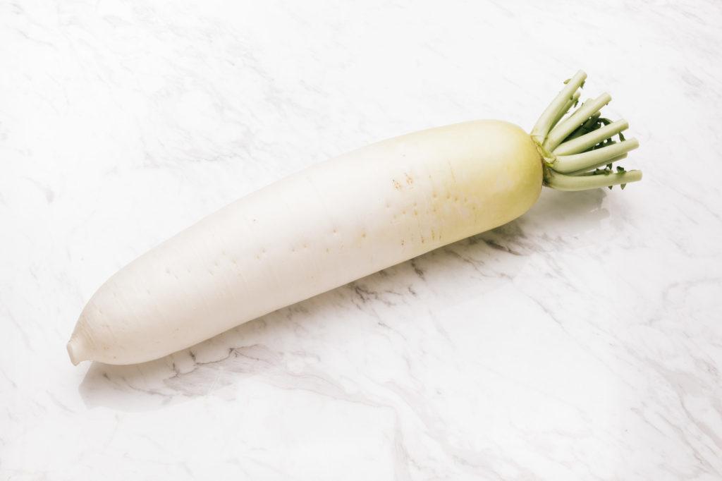 大根に含まれる消化酵素は熱に弱いため、大根おろしにして食べるのがとても効率の良い食べ方!