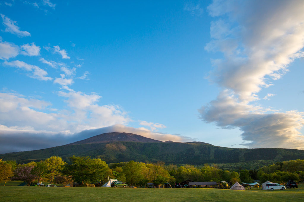 「不忘山」の絶景。南蔵王グリーンパーク不忘